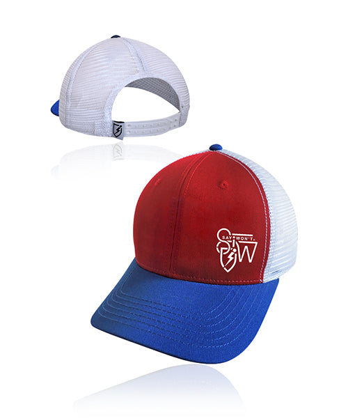 Crafted Snapback - Red-White-Blue