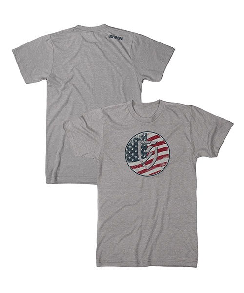 Freedom Tee - Heather Gray