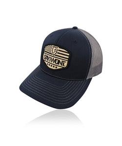Guardian Snapback - Navy and Charcoal