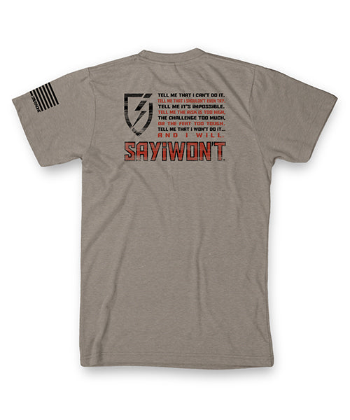 Patriot Creed - Silk Gray