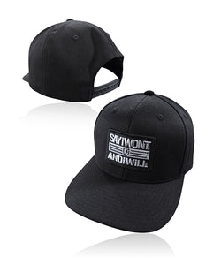 Patriot Solid Snapback - Black