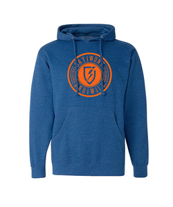 Vindicate Hoodie - Royal Heather