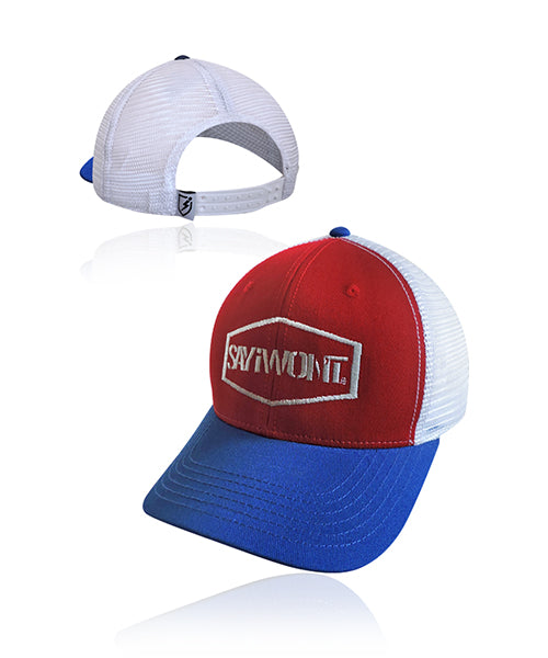 Hex Snapback - Red-White-Blue