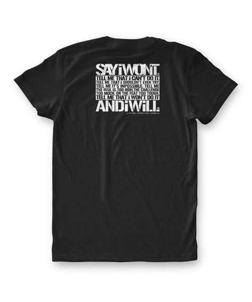 Advisory Creed Tee - Black