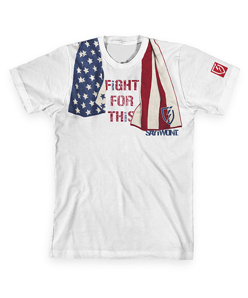 Fight For This Creed Tee - White