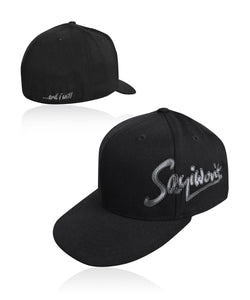 Signature Flatbill Flexfit - Black