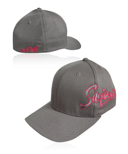 Go PiNK Signature Solid Flexfit - Gray