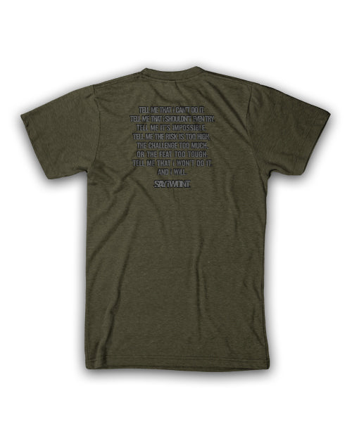 Wanted 3.0 Tee - Heather Olive