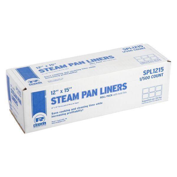1/4 STEAM PAN LINER W/TWIST TIES 250/CS