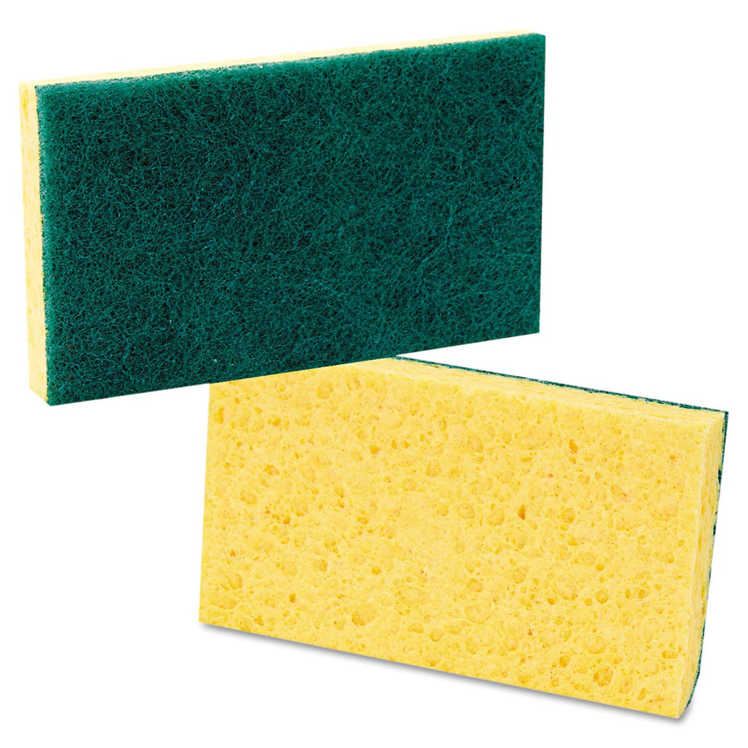 COMBO SCOURING PAD & SYNTHETIC SPONGE