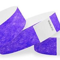 10 PURPLE WRISTBAND