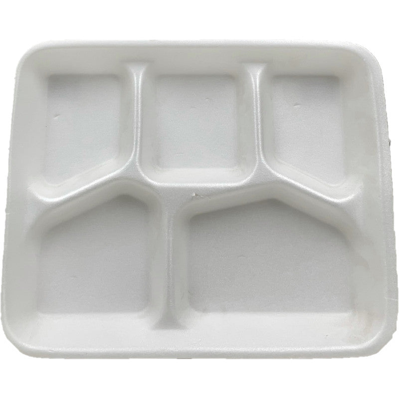School Lunch Tray 5 Compartment 500/Case
