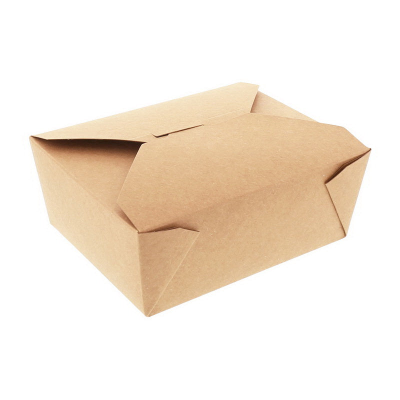 #8 Kraft Folded Takeout Box 6