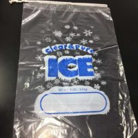 20 lb. Ice Bag with Draw String 250/Case