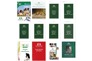 Dog books and publications