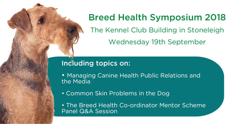 Breed Health Symposium (19th September 2018)
