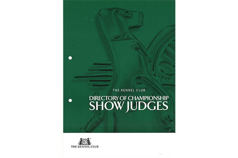 Directory of Championship Show Judges - The Kennel Club