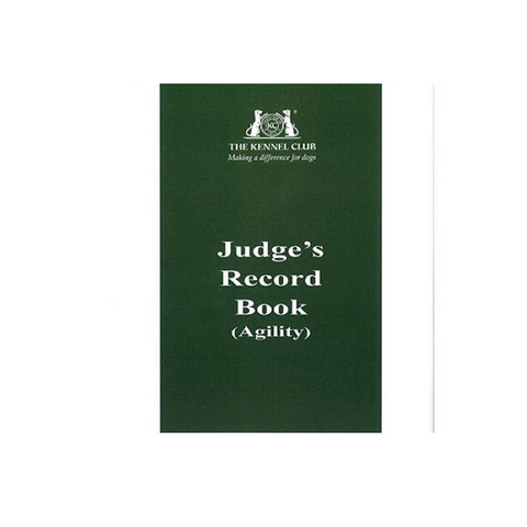 Judges Record Book (all activities)