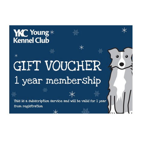 Young Kennel Club Membership Gift Card