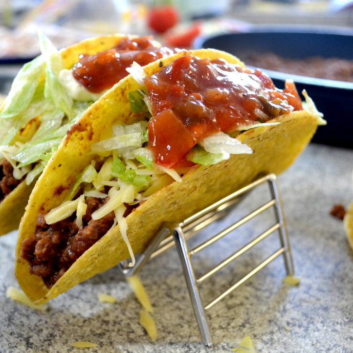 Easy Mexican Beef Tacos