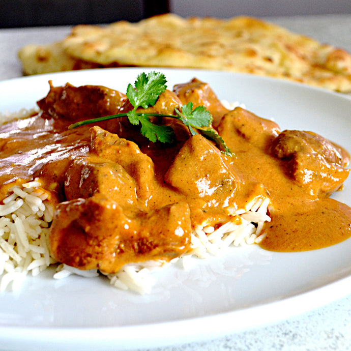 Spicy Lamb Korma Curry with Cashews