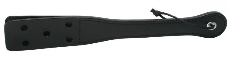 12 Inch Leather Slapper w/ Holes BDSM > Crops, Paddles, Slappers Strict Leather