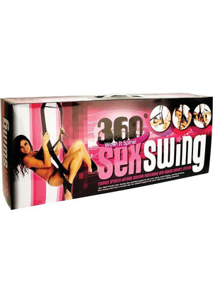 360 Trinity Spinning Sex Swing Packaged Black BDSM > Restraints Secret Kisses