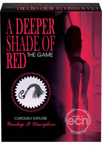A Deeper Shade Of Red The Game