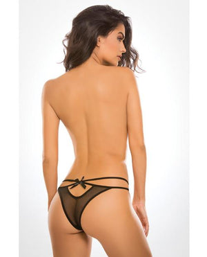 Adore Sheer Naughty Vanilla Panty Lingerie & Clothing > Panties Allure