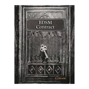 BDSM Contract Books & Games > Instructional Books BDSM Contracts