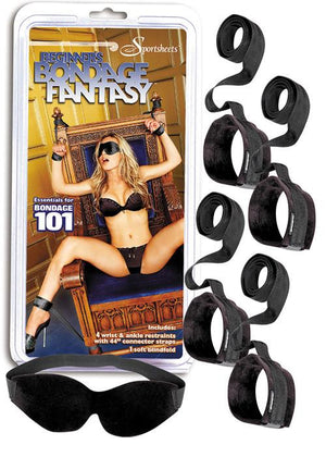 Beginner's Bondage Fantasy Kit BDSM > Restraints Sportsheets