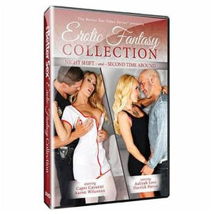 Better Sex Erotic Fantasy Collection DVD Sinclair Institute