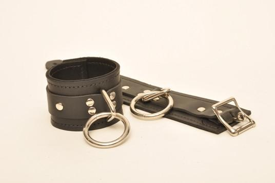 Classic Leather Lined Wrist/Ankle Cuffs