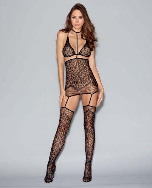 Convertible Harness Bodystocking