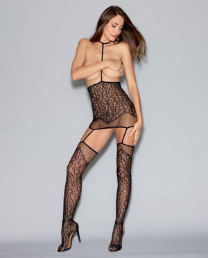 Convertible Harness Bodystocking Lingerie & Clothing > Bodystocking S - XL Dreamgirl International Lingerie