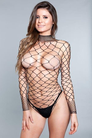 Dancing All Night Bodystocking Lingerie & Clothing > Bodystocking Be Wicked Black