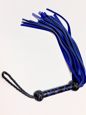Deer Tanned Cowhide Flogger BDSM > Floggers & Whips Rapture Leather