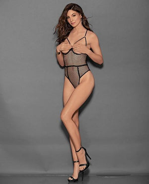 Erotic Dreams Fishnet Teddy Lingerie & Clothing > Lingerie Small-XL Escante'