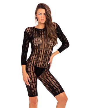 Exotic Geometry Bodystocking Lingerie & Clothing > Bodystocking S - XL Rene Rofe