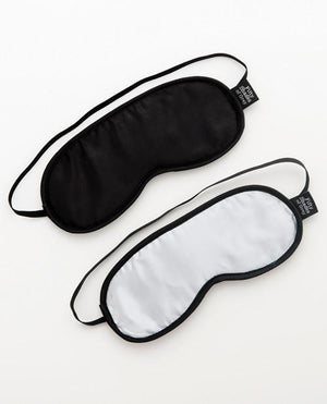 Fifty Shades No Peeking Soft Twin Blindfold Set BDSM > Blindfolds, Masks, & Hoods Lovehoney