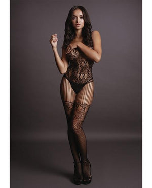 Floral Lace Bodystocking Lingerie & Clothing > Bodystocking Le Desir by Shots