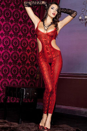 Footless Python Bodystocking Lingerie & Clothing > Bodystocking Music Legs