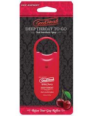 Goodhead Deep Throat To Go Bath, Body & Massage Doc Johnson Wild Cherry