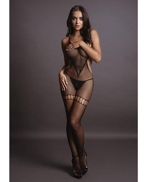 High Neck Bodystocking Lingerie & Clothing > Bodystocking Le Desir by Shots