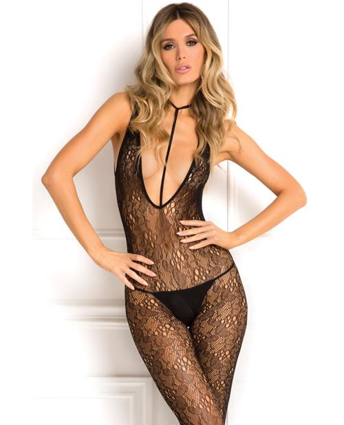 Holy Plunge Harness Bodystocking