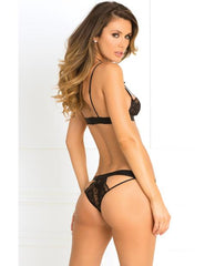 Hot Harness Bra and Panty Lingerie & Clothing > Lingerie Small-XL Rene Rofe