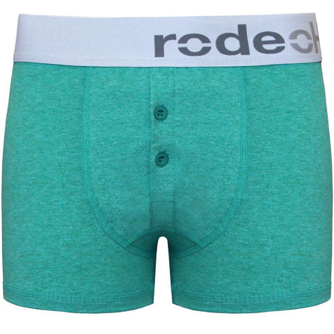Jade Button Fly Boxer