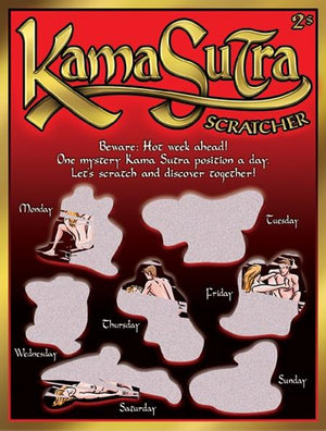 Kama Sutra Scratchers Books & Games > Games Ozze Creations