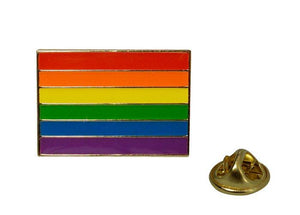 Lapel Pin Rainbow Flag Bachelorette & Novelty Gaysentials
