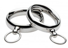 "Lead Me Stainless Steel Cock Ring 1.95"" BDSM > Cock & Ball XR Brands"